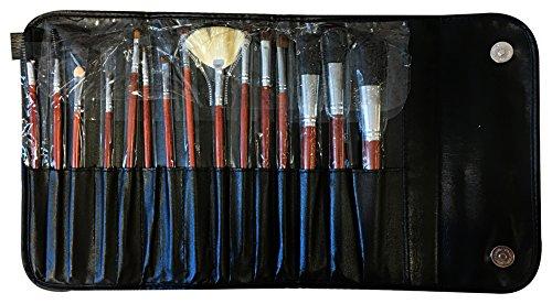 APRO, jeu de maquillage (Noir, 15 pièces) – 1 Pack