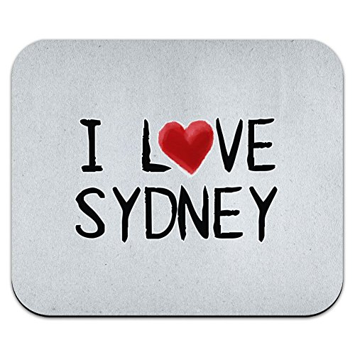 graphics-and-more-i-love-sydney-written-on-paper-mouse-pad-mousepad