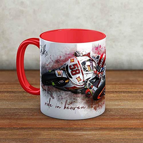 GP-Tasse 38 - Marco Simoncelli und Nicky Hayden - rot