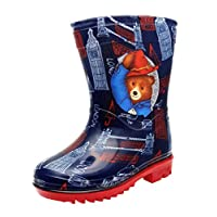 Paddington Bear Blue Wellies