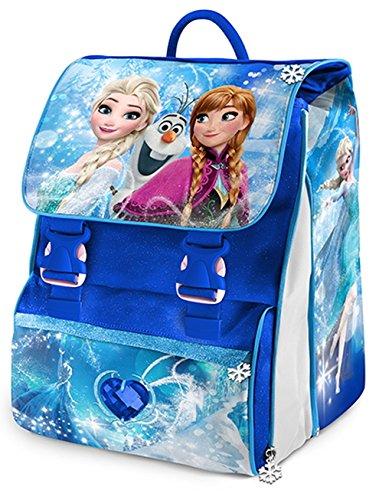 miglior servizio b148d 48916 Disney Frozen Elsa Zaino Estensibile Scuola Elementare Medie ...