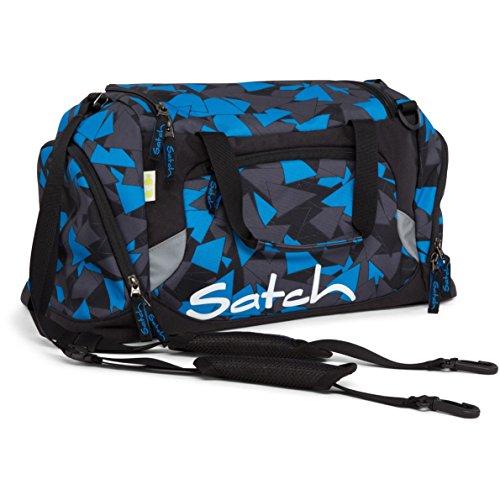 Satch Grinder borsa sportiva SAT DUF-001-216, 50 cm, 25 L, Verde Blue Triangle (Blue / Nero)
