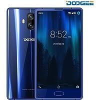 Smartphone in Offerta, DOOGEE MIX LITE Dual SIM Android 7.0 Telefonia Mobile - 5.2 Pollici Bezel-less 4G Cellulare - 2GB RAM+16GB ROM - Fotocamera da 13 MP + 13 MP - MT6737 Quad Core - 3080mAh (Blu)