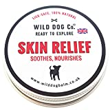 Wild Dog Skin Balm soothes itchy, dry skin 60mls tin, dogs anti-fungal Wrinkle balm, 100% Natural, made in the UK. Gift idea for dog lovers