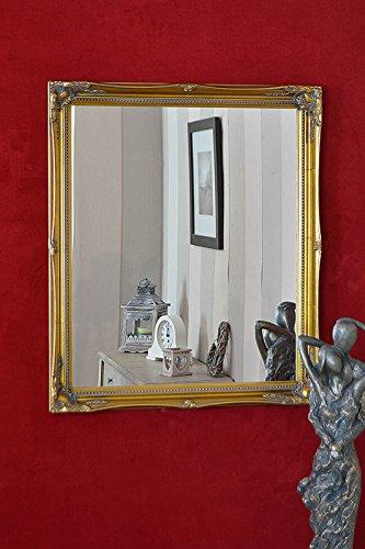 5,1cm Gold shabby chic Style Swept specchio da parete 61x 50,8cm