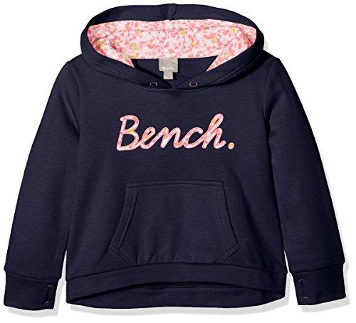 Bench Script Hoody, Sweat-Shirt à Capuche Fille Bench