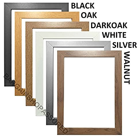 MODERN STYLE SOLID WOODEN EFFECT PICTURE FRAMES PHOTO FRAMES POSTER FRAMES READY TO HANG OR TO STAND (36 x 24 INCHES ( MAXI POSTER SIZE ),