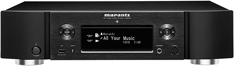 Marantz NA6005 Netzwerk-Audioplayer (WLAN, Bluetooth) schwarz