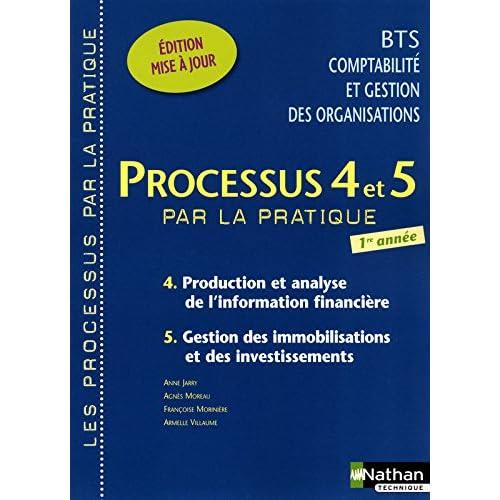 Processus 4 et 5 par la pratique, Production et analyse de l'information financière, Gestion des immobilisations et des investissements