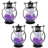 ShadowFax Gel Glass Candle Lantern Scent...