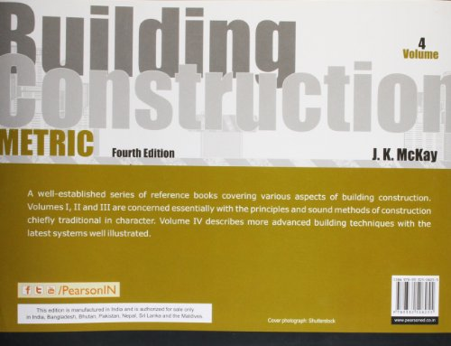 Building Construction: Metric Volume 4, 4e: Metric - Vol. 4