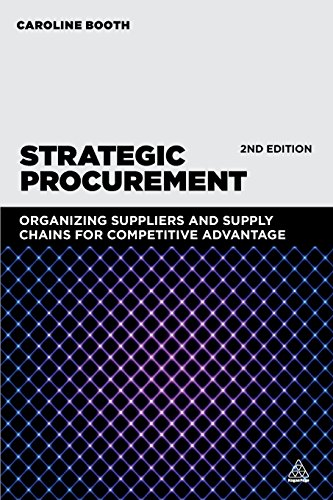 Strategic Procurement: Organizing Suppliers and Supply Chains for Competitive Advantage