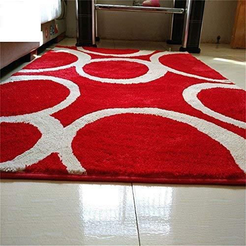 BAIF Geometrische Form Mode Hause Runde Teppich, Couchtisch Schlafzimmer Wohnzimmer Home Computer Stuhl Drehstuhl Decke (Größe: 150 cm)