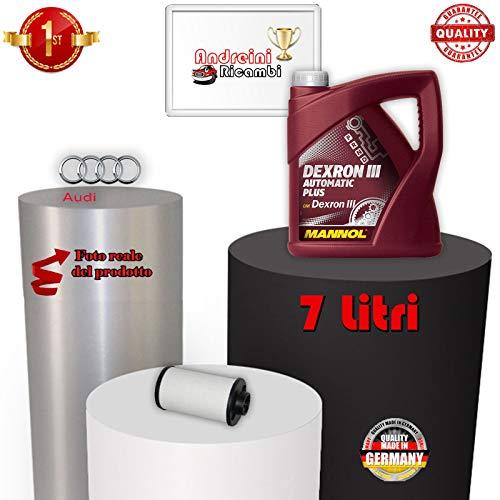 KIT FILTRO CAMBIO AUTOMATICO E OLIO A3 2.0 TFSI 147KW 2010 -> 2012 1080
