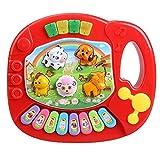 Juguete de piano - SODIAL(R)Piano de granja de animal educativo musical de ninos bebe...