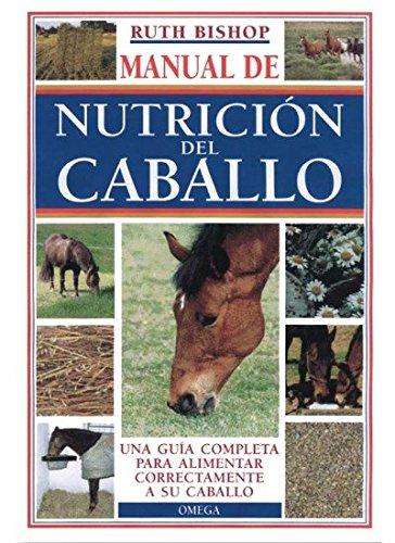 MANUAL DE LA NUTRICIÓN DEL CABALLO (GUIAS DEL NATURALISTA-ANIMALES DOMESTICOS-CABALLOS) por R. BISHOP