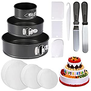 Does your efforts at cake making go down the pan? This is the perfect gift, a Springform Cake Pan Set that won;t let you down in your time of need!