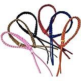 Gosear® Bracelets moustiques, lot de 6 Bracelets Anti-moustiques Répulsif moustiques anti-insectes et anti-nuisibles Taille unique multicolore