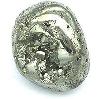 Trommelstein Pyrit mit Klüften und teils sichtbarer Kristallstruktur 2,5-3 cm preisvergleich bei billige-tabletten.eu