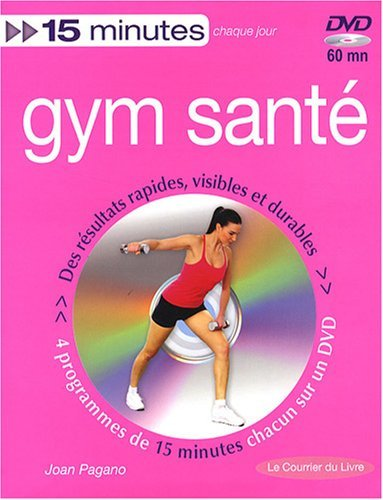 Gym santé : Tonus, minceur et souplesse (1DVD) by Joan Pagano (1-Apr-2008) Paperback