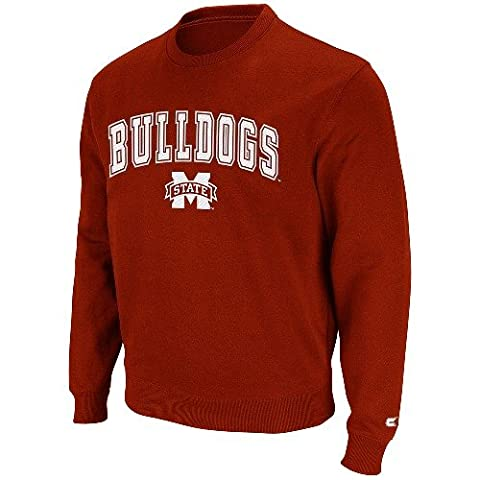 Mississippi State Bulldogs 2011 Automatic Fleece Crew SweatShirt (Bulldogs Fleece Felpa)