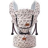 Tiners Babytragetuch Multifunktionssitz Ergonomischer Babyrucksack 0-36 Monate Vier Jahreszeiten Babyartefakt,Khaki