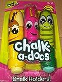 Chalk-a-doos Chalk Holders - Bugs Set
