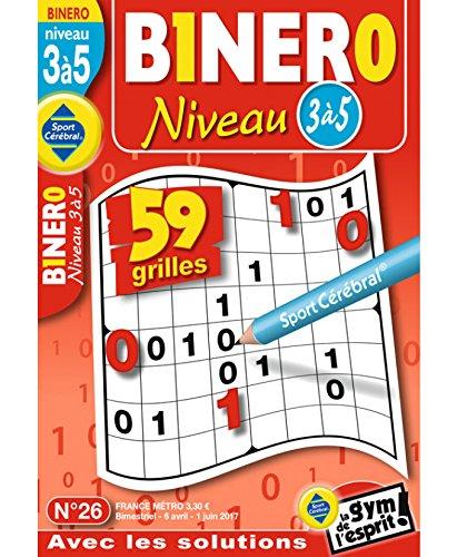 Binero Niveau 3 à 5 Niveau 3/5