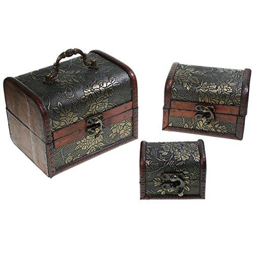 Juego-de-3-Cajas-decoradas-de-madera-145-x-11-x-11-cm-Bales-decorativos-Christian-Gar-HY-7160