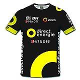 T-shirt Le Tour de France de cyclisme,2016 Tour de France T-shirt à séchage rapide Adrien Petit O Direct Energie (S)