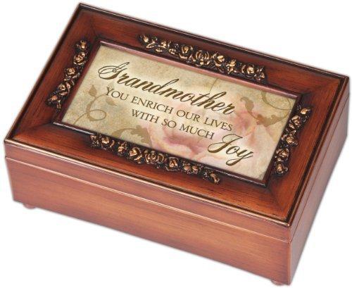 Petite boîte à musique Grand-mère Rose