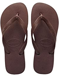 Havaianas Top, Chanclas Unisex Adulto, Marrón (Dark Brown 0727), 37/38 EU (35/36 BR)
