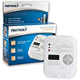 Nemaxx - Detector de CO, monóxido de carbono detector de gas alarma de gas  monóxido de carbono según la norma DIN EN50291
