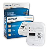 Nemaxx CO Detector de monóxido de carbono, detector de gas
