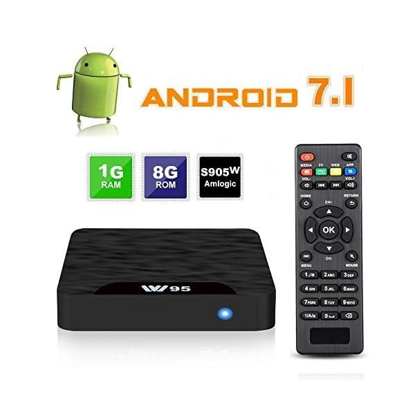 TV-BOX-Android-71-VIDEN-W1-Smart-TV-Box-Dernire-Amlogic-S905W-Quad-Core-1Go-RAM-8Go-ROM-4K-UHD-H265-USB-HDMI-WIFI-Lecteur-Multimdia-pour-Divertissement--Domicile
