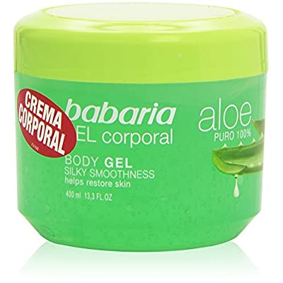 Babaria - Crema Corporal - Aloe puro - 400 ml