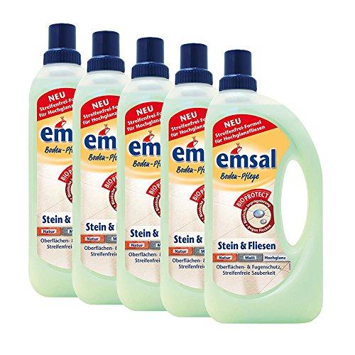 5x-emsal-boden-pflege-stein-fliesen-1-liter-mitbioprotect-oberflachen-fugenschutz