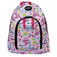 10L School Backpack Small Rucksack Nursery Kids Junior Bag (Owls)
