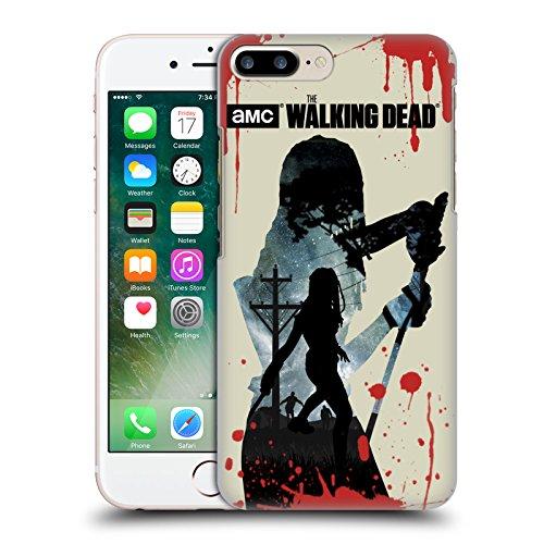 Offizielle AMC The Walking Dead Hand Silhouetten Ruckseite Hülle für Apple iPhone 6 / 6s Michonne