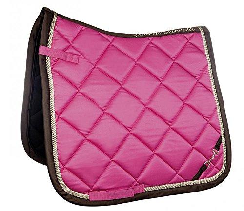 HKM Sports Equipment Lauria Garrelli Schabracke -Golden Gate- Bit, pink, Dressur