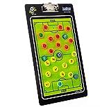 Fußball Magnet Taktiktafel Fussball Taktikmappe Coach-Mappe mit Stifte Radiergummi