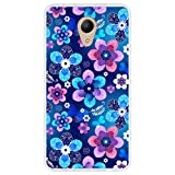Hapdey Phone Case for [Wiko Robby] design [Floral spring