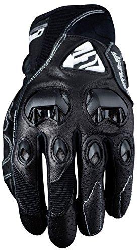 Guanti Five Advanced stunt EVO guanti da adulto in pelle, nero, taglia 09