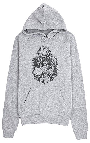 The Jungle Book Mowgli And Others Women's Hoodie Pullover Medium