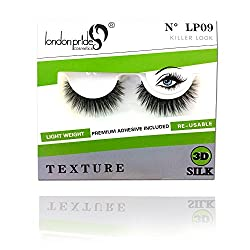 London Pride Cosmetics 3D SILK EYELASH LP 09