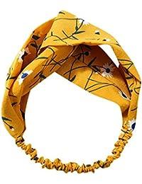 a6930883e40e Topgrowth Fascia per Capelli Donna Vintage Elastica Fascia Sportiva per  Capelli Accessori per Capelli Contorto Annodata