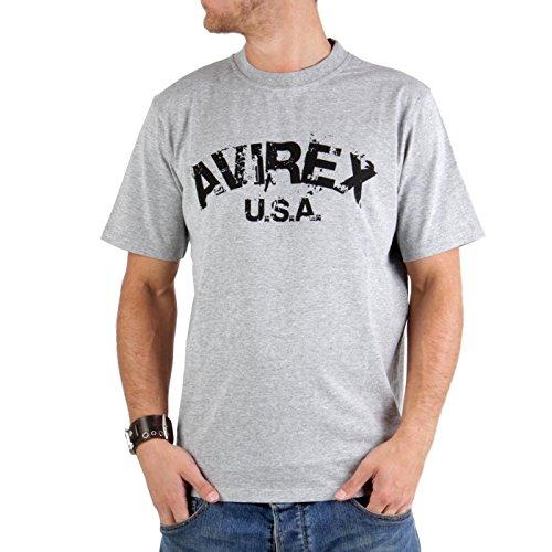 Avirex -  T-shirt - Uomo grigio M