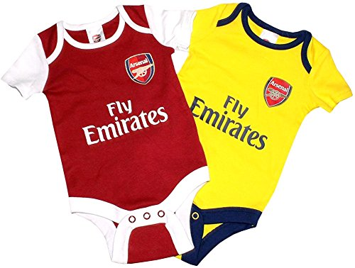 Arsenal Baby Bodysuits 2017/18 (Jersey Body Knit)