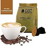 96 cápsulas de café compatibles Nescafé Dolce Gusto - Cappuccino - 96 Cápsulas compatible con maquinas Nescafé Dolce Gusto - (Paquete de 6x16 por un total de 96 Capsules) Il Caffè italiano