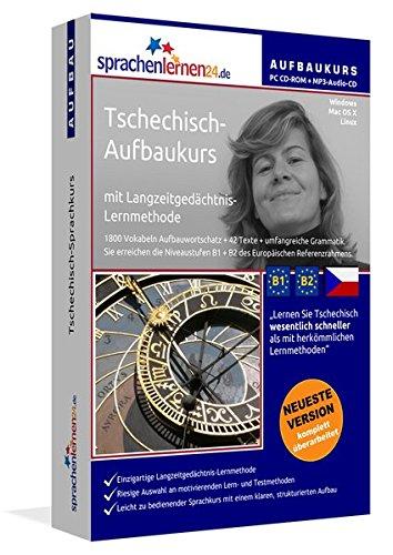 Tschechisch-Aufbaukurs: Lernstufen B1+B2. Lernsoftware auf CD-ROM + MP3-Audio-CD für Windows/Linux/Mac OS X. Fließend Tschechisch lernen für Fortgeschrittene mit Langzeitgedächtnis-Lernmethode